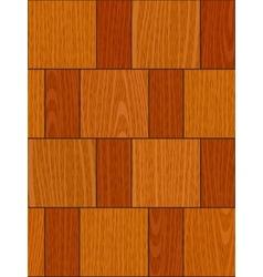 seamless light oak square parquet panel texture vector image vector image