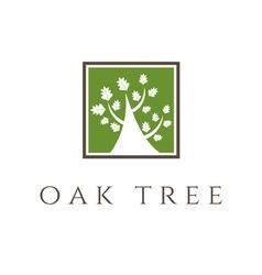 oak tree icon vector image vector image