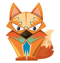 Animal design for fox vector