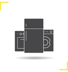 Appliances icon vector