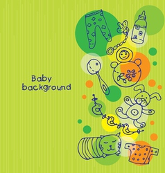 Babackground vector