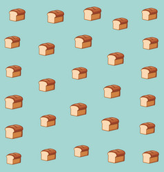 delicious food pattern cartoon vector image