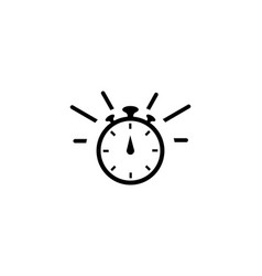 fast time logo vector image