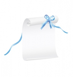 graduation scroll vector image