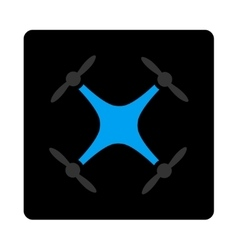 Quadcopter icon vector