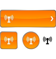 Radio button set vector image