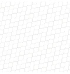 Seamless pattern thin diagonal wavy lines mesh vector