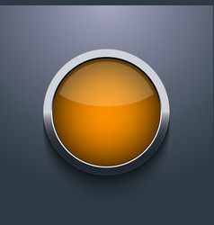 web button design on gray background Eps10 vector image