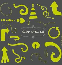 Arrows1 vector image vector image
