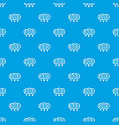 Camera lenses pattern seamless blue vector