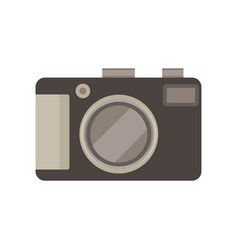 camera photo photograph icon picture digital lens vector image