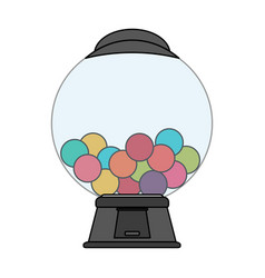 candy machine icon image vector image