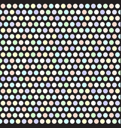 polka dot pattern seamless geometric dot vector image vector image