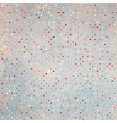 Polka dots pattern background vector image vector image