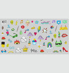 108 patches vector