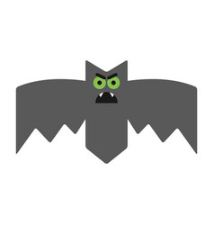 evil angry sullen bat emotional vampire the vector image