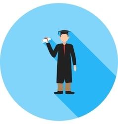 Graduate Student vector