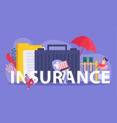 Health insurance composition vector