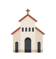 religious church icon flat style vector image