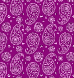 beautiful eastern pattern-India pattern vector image vector image