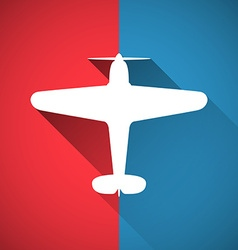 Plane design vector image
