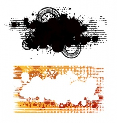 grungy vector image