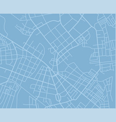 blue map vector image vector image