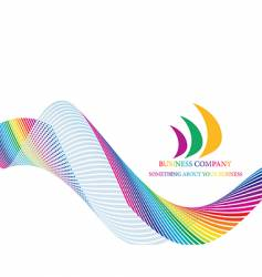 colourful background vector image