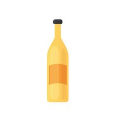 design alcohol bottle in vector image