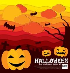Halloween Concept EPS10 vector image