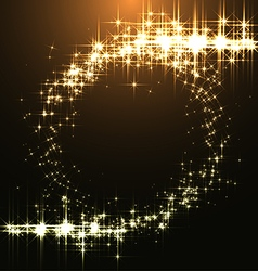 Magic Background with Bengal Lights vector image vector image