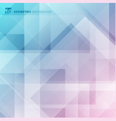 abstract geometric blue digital futuristic design vector image