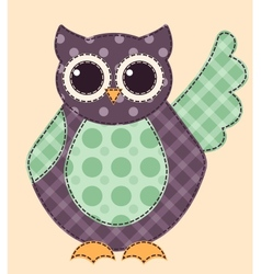 Application owl 1 vector image