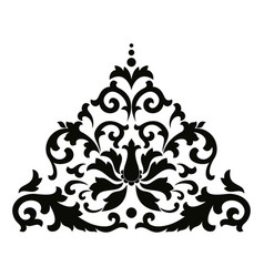 asian style ornament vector image