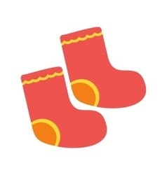 Baby Socks vector image