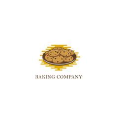 baking food abstract logo vector image