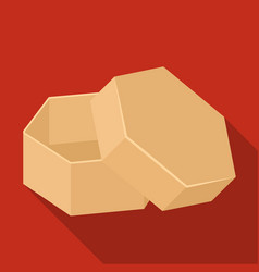 box packing paper and other web icon in flat vector image
