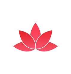 lotus-flower vector image