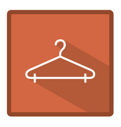 symbol clothespin icon image vector image