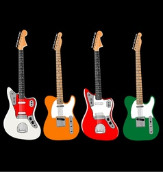 guitar set vector image