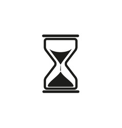 sand times clock icon vector image vector image