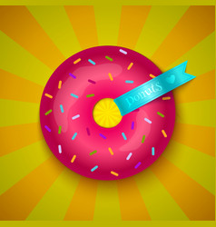 love donuts vector image