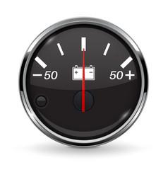 accumulator gauge vector image