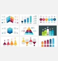 Arrows infographic diagram chart graph vector