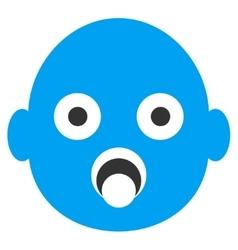 Baby Head Icon vector