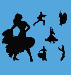 Flamenco collection vector