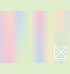 Holographic gradient cover vector