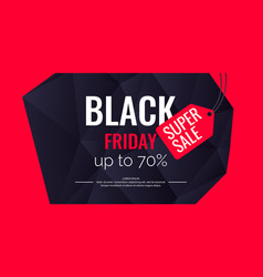 Original poster for black friday sale abstract vector