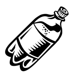 Soda pop bottle vector
