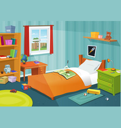 Some kid bedroom vector